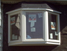 Anderson 45° Vinyl New Construction Bay Window with Casements